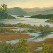 Fall View From Boscobel Poster