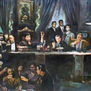 Fallen Last Supper Bad Guys Poster