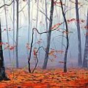 Fallen Leaves Poster by Graham Gercken
