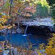 Falling Water Waterfall Poster