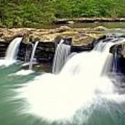 Falling Waters Falls 4 Poster