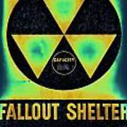 Fallout Shelter Abstract 2 Poster