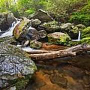 Falls On Blood Mountain Creek Poster