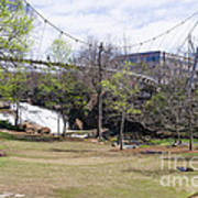 Falls Park On The Reedy Greenville Poster