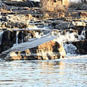 Falls Park Waterfalls Poster