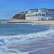 Falmouth Heights Beach Cape Cod Poster