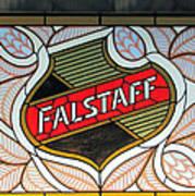 Falstaff Window Poster