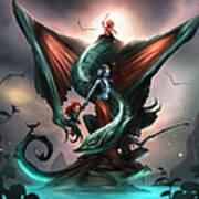 Family Dragon Poster