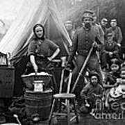 Family Housing For 31st Penn Infantry Fort Slocum Washington Dc 1861 Poster