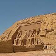 Famous Egyptian Landmarks Poster