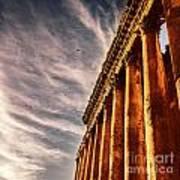 Famous Jupiter Columns Poster
