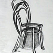 Fanback Parlor Chair Poster