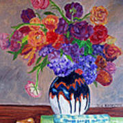 Fanciful Bouquet Poster