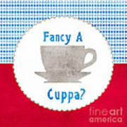 Fancy A Cup Poster by Linda Woods