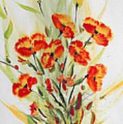 Fancy Flowers Poster