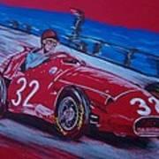 Fangio At Monaco 57 Poster