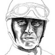 Fangio Poster by Diane Fine