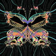 Fantasy Butterfly Poster