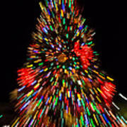 Fantasy Christmas Tree Poster
