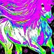 Fantasy Painted Dream Horse Poster