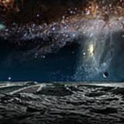 Far Future Earth Poster