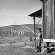Farm Erosion, 1937 Poster
