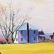 Farm In Spring Poster