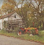 Farm Still Life Poster