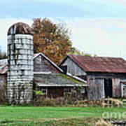 Farm - The Old Barn Poster