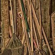 Farm Tools Poster