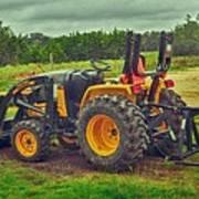 Farm Tractor Poster