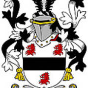 Farmer Coat Of Arms Irish Poster