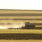 Farmer Working Poster