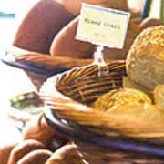 Farmer's Market Fresh Bread Poster