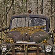 Farmers Old Work Truck Poster