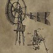 Farmer's Windmill Poster