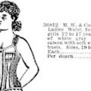 Fashion Corset, 1895 Poster