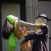 Fashion Dolls Dancing Poster