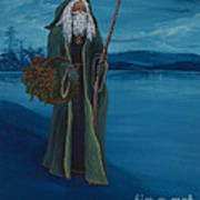 Father Christmas Poster by Darice Machel McGuire