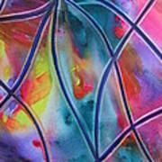 Faux Stained Glass II Poster