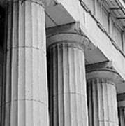 Federal Hall Columns Poster