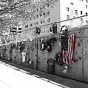 Fence At The Oklahoma City Bombing Memorial Poster