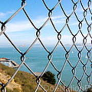 Fenced In Beauty Poster