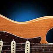Fender Stratocaster Curves Poster