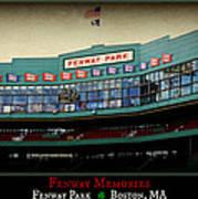 Fenway Memories - Poster 2 Poster