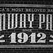 Fenway Park Boston Ma 1912 Sign Poster