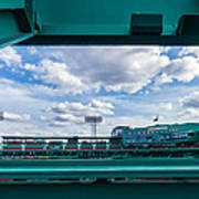 Fenway Park From The Green Monster Poster