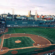 Fenway Park Photo - Inside View Poster by Horsch Gallery
