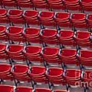 Fenway Seats Poster