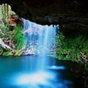 Fern Pool Falls Poster